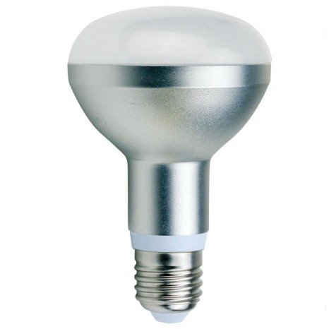 240v r80 8w cool white led non dimmable ur808wbc es wh